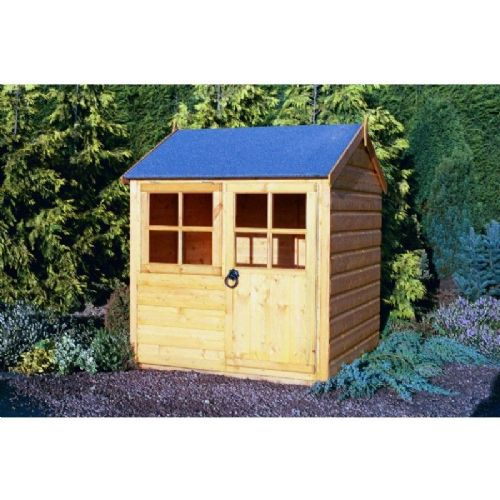 Kids Garden Wooden Cute Playhouse with optional platform